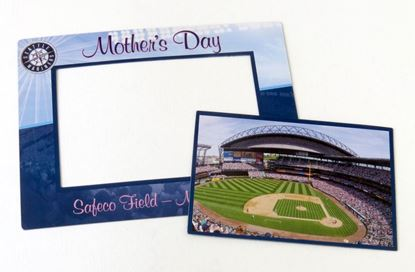 Seattle Mariners Mother's Day Photo Frame Magnet