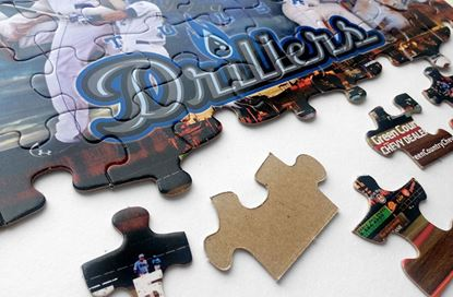 Picture of Puzzles (2 in 1) - Pro Baseball