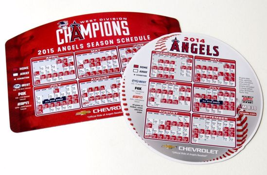 Picture of Schedule Magnets - Pro Baseball
